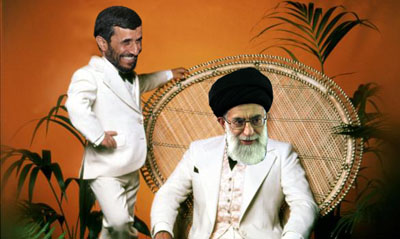 Khamenei Rork and Tattoo Ahmadinejad