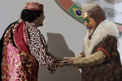 Calling in the Envoy: If anyone can talk Gaddafi down, it's the Burger King mascot