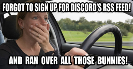 "Discord to Move Away From Content in Favor of 24/7 Pledge Drives, With our $50 ""Gold"" Membership you get a personalized Tweet"