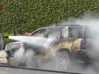 GM Claims Fiery Crash New Feature Not Design Flaw