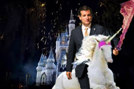 GOP Unveils New Plan to Take Back White House, Bullshit! Cruz riding bareback?