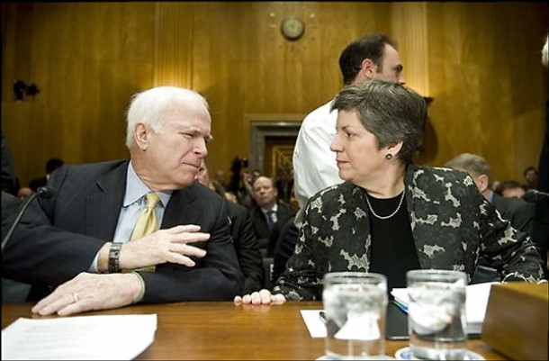 Janet Napolitano Confirmation Hearing for Head of Homeland Security