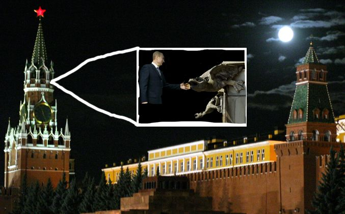 World Shudders as Putin Feeds Kremlin After Midnight