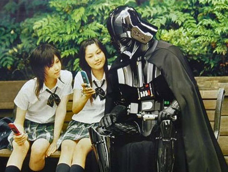 A Long Time Ago in a Galaxy Far, Far Away...Sith Protective Services Intervened, but not before Vader was traumatized
