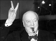 Was Churchill's Speech Really About Zombies?