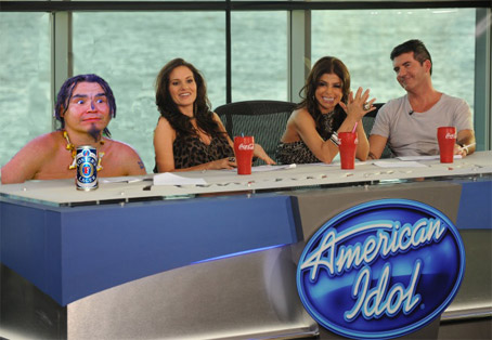 Can the Ghetto Shaman Save American Idol? We sure hope not...