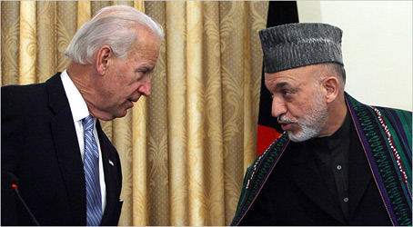Biden Reassures the Country of Afghanistan...