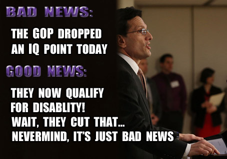 David and GOPliath? Cantor now eligible for Obamacare