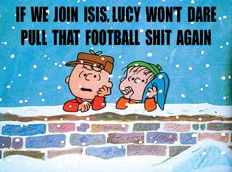 How Is ISIS Radicalizing Our Children? The Charles Schultz Foundation lawsuit now pending. Go figure.