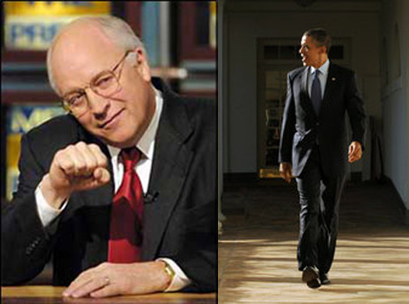 "Obama and Cheney Finally Agree! ""Everbody deserves a fair shot."""