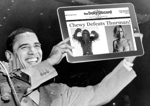 The Discord's Chewy Defeats Thurman Debacle