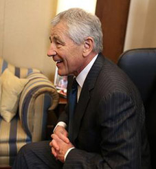 Hagel Declares War on Israel!