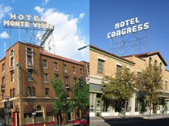 Congress and Monte Vista Hotels