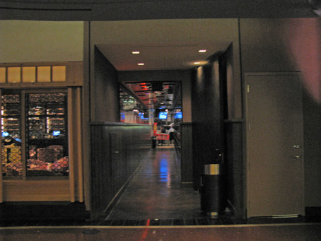 The secret entrance to the Cosmopolitan's secret pizzaria