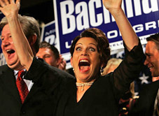 "Bachmann's Attack Finally Reaches Fabled ""Ass Ceiling"""