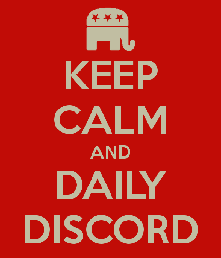 Keep calm and Daily Discord