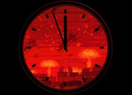 Due to Warming Scientists Move Doomsday Clock! Luckily Foxeteers can only read digital