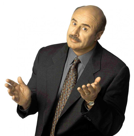 "Dr. Phil Also Backing Off His Latest Tweet, ""Is it okay for really large men to use midgets as a football?"""