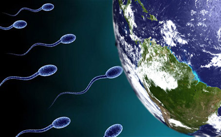 Mayans Little Known 2013 Earth-Ovum Prediction, Buick-sized sperm to burrow to Earth's core!