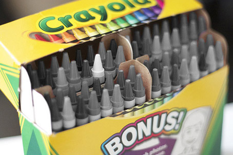 50 Shades of Grey Crayons Are a Marketing Bust