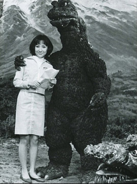 Godzilla Always Has Trouble with Bra Strap