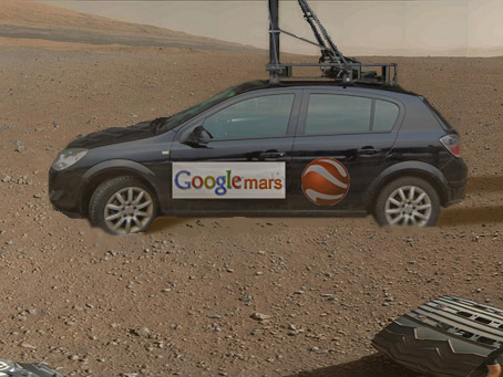 Rover Finds Life On Mars! Jesus, would you Google people give it a rest?!