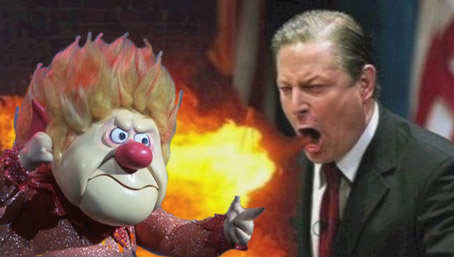 Al Gore Stokes anti Heat Miser Rhetoric