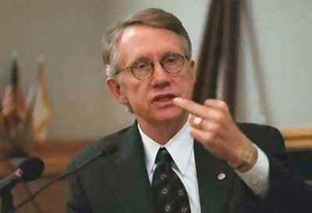 "Harry Reid Sets the Record Straight...""Sorry, I meant nigger."""