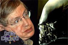 Hawk V. Alien: Hawking Calls for Preemptive Attack on All Class M Planets