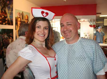 The Heart Attack Grill Charged with Assisted Suicide: No Charge Cash Only