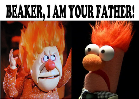 "New Development Rocks Muppet World! ""Mee-Mek-Mee! Meek-Me-Mee!!"" —Beaker"