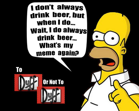 Homer Simpson: The Most Interesting Meme in the World