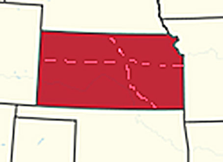 Kansas to be Divided into Neighboring States