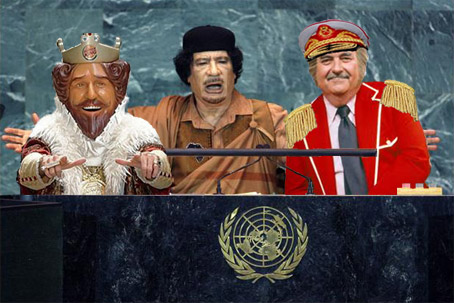 "Burger King Mascot Fails in Libya, time to call in ""The Captain"""
