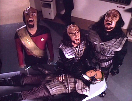 Klingons Mourn the Loss of a Kindred Spirit Today