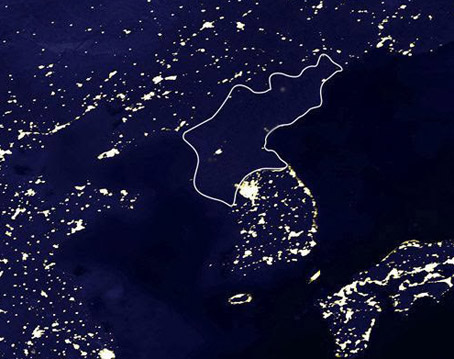 Satellite Confirms the Only Light in N. Korea is a Motel 6