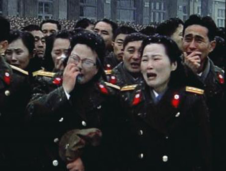 Bachmann Hires North Korean Criers After Stunning Loss in Iowa