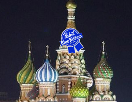 "Putin Annexes Pabst! Pabst Red Ruskies? ""We will add their Blue Ribbon to our vast array of Olympic medals"""
