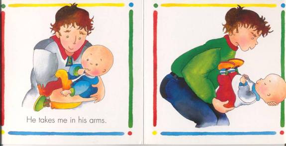 From the Caillou Daddy book