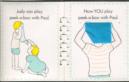 From the Pat the Bunny book