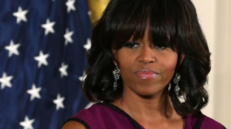 Michelle Obama's Heckler Added To Terrorist Watch…Never mind; drone strike successful