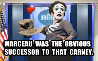 Deceased Mime Appointed White House Press Secretary