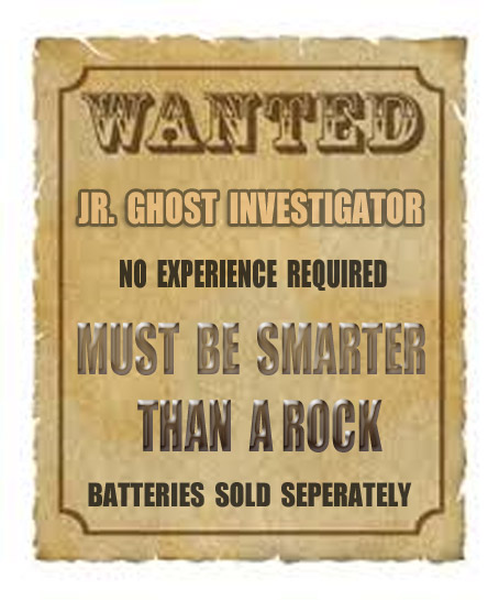 Cost for one night at the Mizpah $110.&lt;br />Cost of two Double-A batteries $2.&lt;br />Cost of a competent junior ghost investigator: priceless&#8221; /></td> </tr> <tr> <td id=