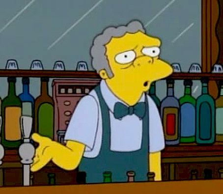 "Dying Simpsons' Co-Creator Leaves Fortune to Moe's Tavern, Moe: ""The guy's an asshole, but I'm still touched."""