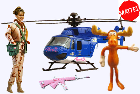 Mattel to Introduce Moose Murder Barbie!