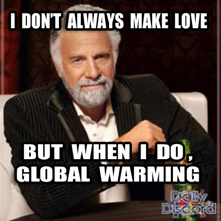 Most Interesting Man in the World linked to Climate Change, Well, it beats our Fry from Futurama theory