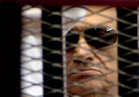Mubarak Lives but Hasn't Gone Near the Hamster Wheel or his Water Bottle for Days
