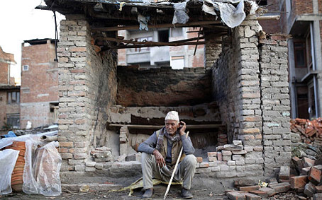 Nepalese Man Found from 1934 Earthquake