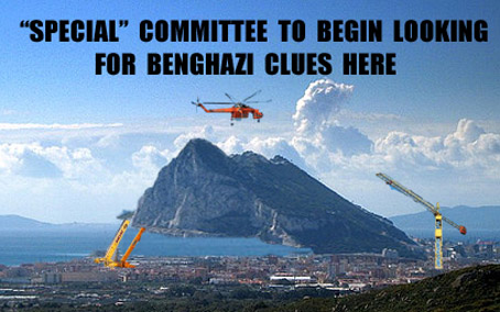 Benghazi Investigation Shifts Focus to Big Rock Near Spain