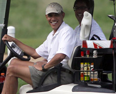 Obama to Kick Off Lame Duck Session with More Golf and Drinking